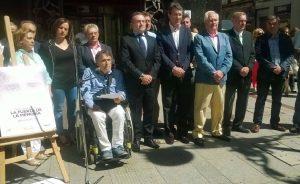 Acto por el XIX Aniversario Miguel Ángel Blanco en León.