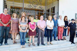 Homenaje a Miguel Ángel Blanco y a todas las víctimas del terrorismo en el XIX aniversario en Vicar.